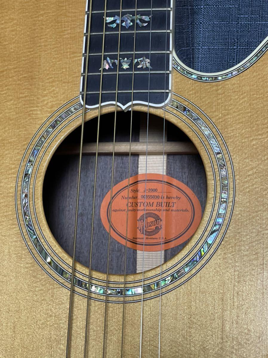 Gibson J-2000 Custom Cutaway_画像2
