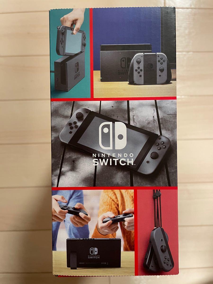 Nintendo Switch 本体 グレー ニンテンドー スイッチJoy-Con 新品 未開封  任天堂