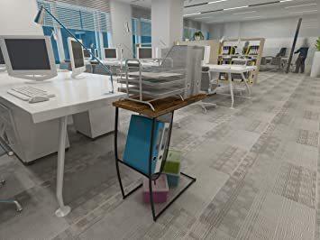 ヴィンテージ EKNITEY サイドテーブル ソファ ナイトテーブル コ字型 広い天板 パソコン コーヒーテーブル 多機能 省ス_画像4