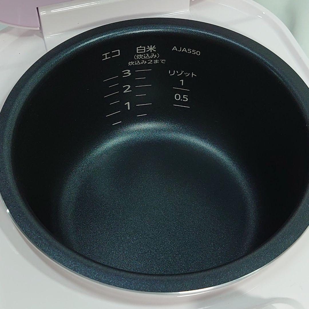 タイガー 炊飯器 マイコン tacook 炊きたて3合 バレエピンク 展示品 TIGER タイガー炊飯器 マイコン炊飯ジャー