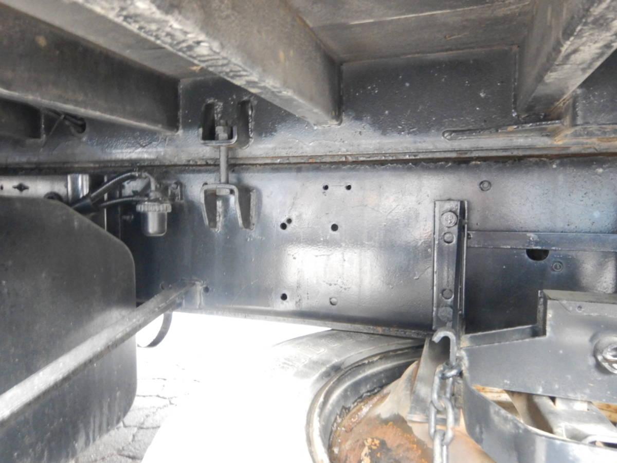 【CH16329】即戦力 車検R3年9月まで H17年 いすゞ ギガ 3軸 セルフ ロングジャッキ 重機運搬車 低走行 ウィンチ 積載10800kg 内寸843×242_画像7