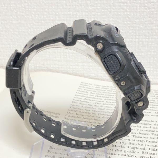 ★CASIO G-SHOCK デジアナ 多機能 メンズ 腕時計 ★ カシオ G-ショック GA-110 アラーム クロノ タイマー ブラック 稼動品 F3830_画像6