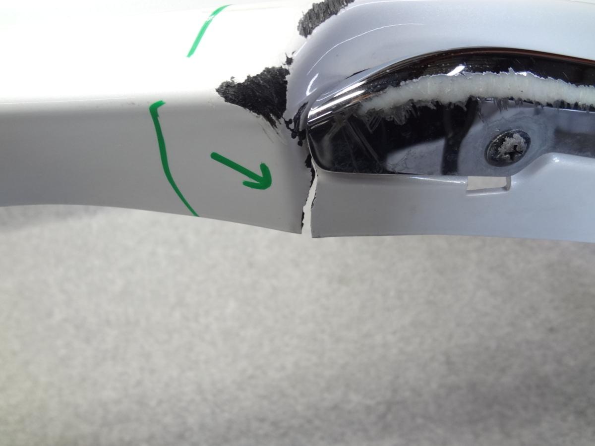 216053/D229 レクサスRX AGL20 GYL20 前期 モデリスタ MODELLISTA フロントスポイラー エアロ パールホワイト _画像5