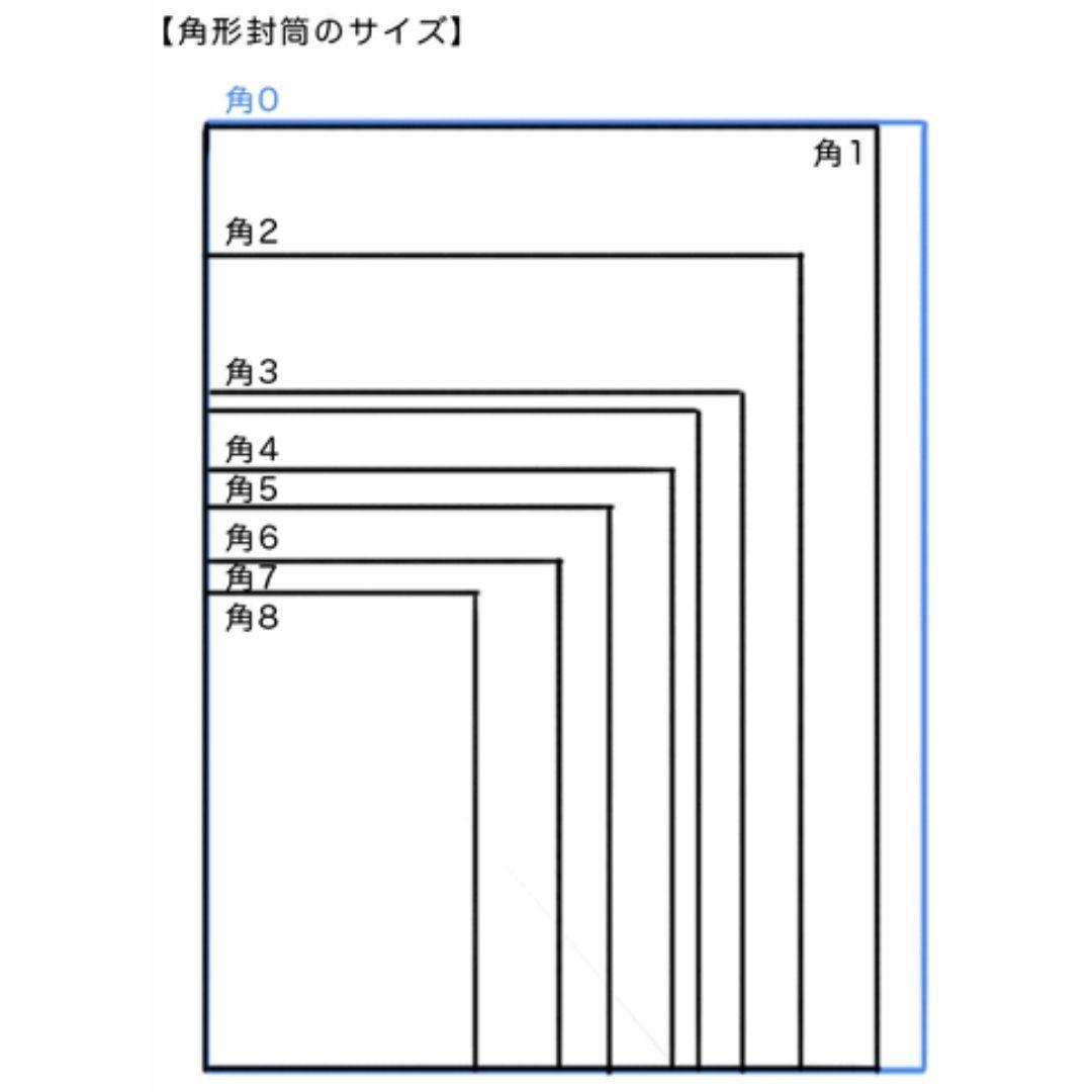【セール】角2(角形2号) A4対応 クラフト封筒 50枚 ■240×332mm 紙厚:85g/m2 #mono角形2号_画像4