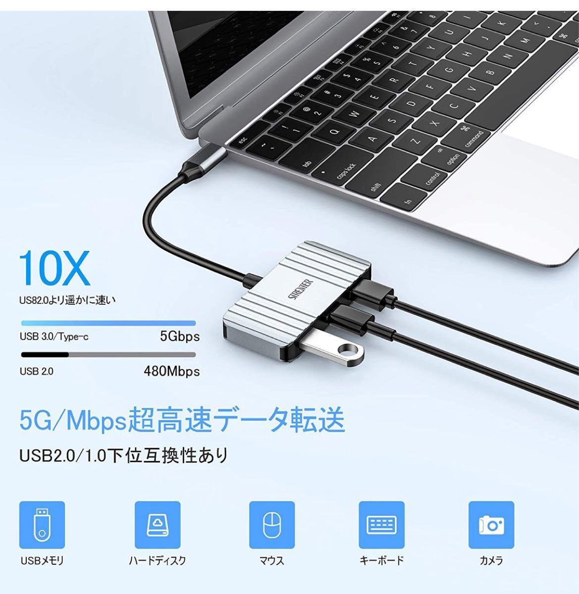 USB Type C HDMI 変換 アダプタ