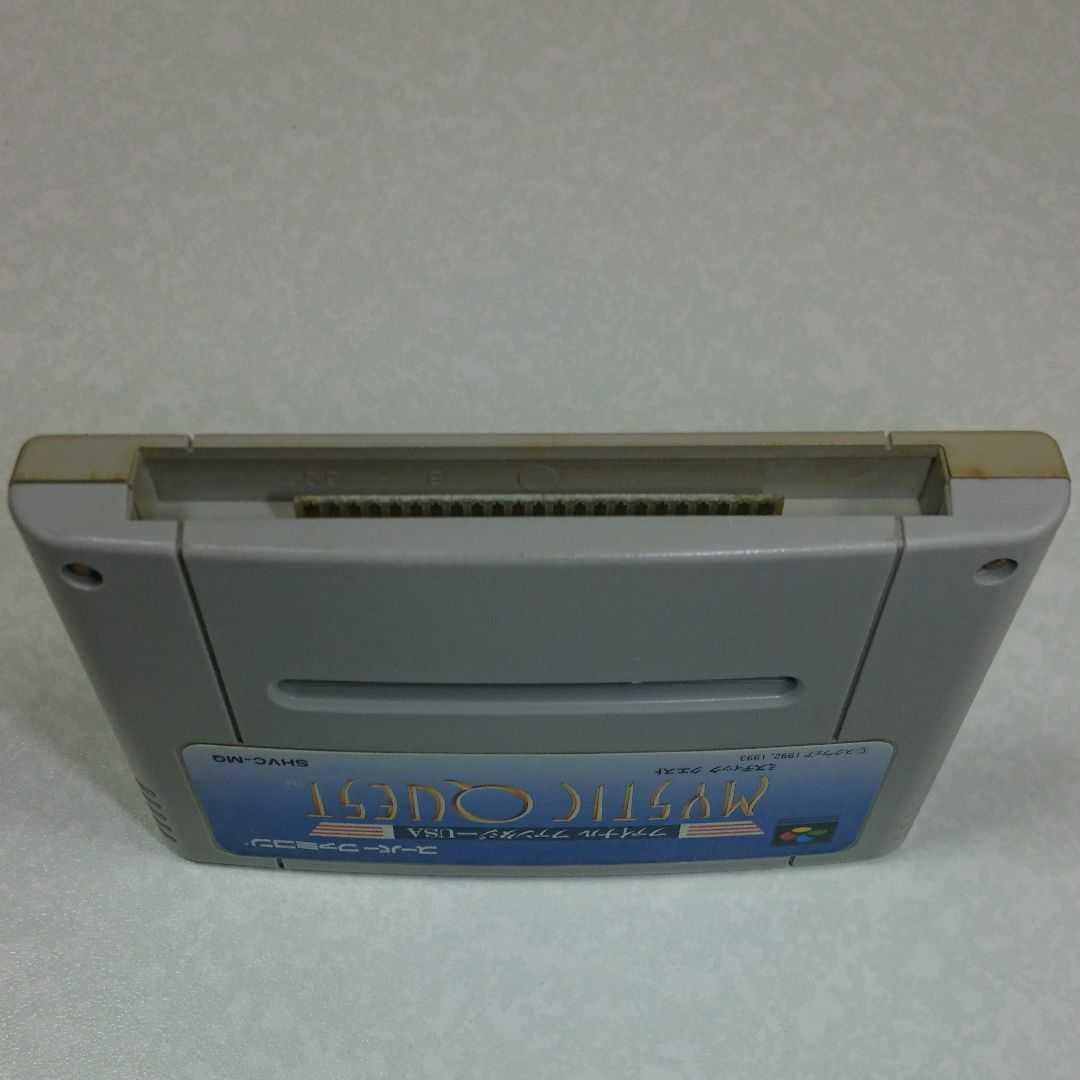 ミスティッククエスト 電池交換 スーパーファミコン スーファミ SFC ファイナルファンタジーUSA
