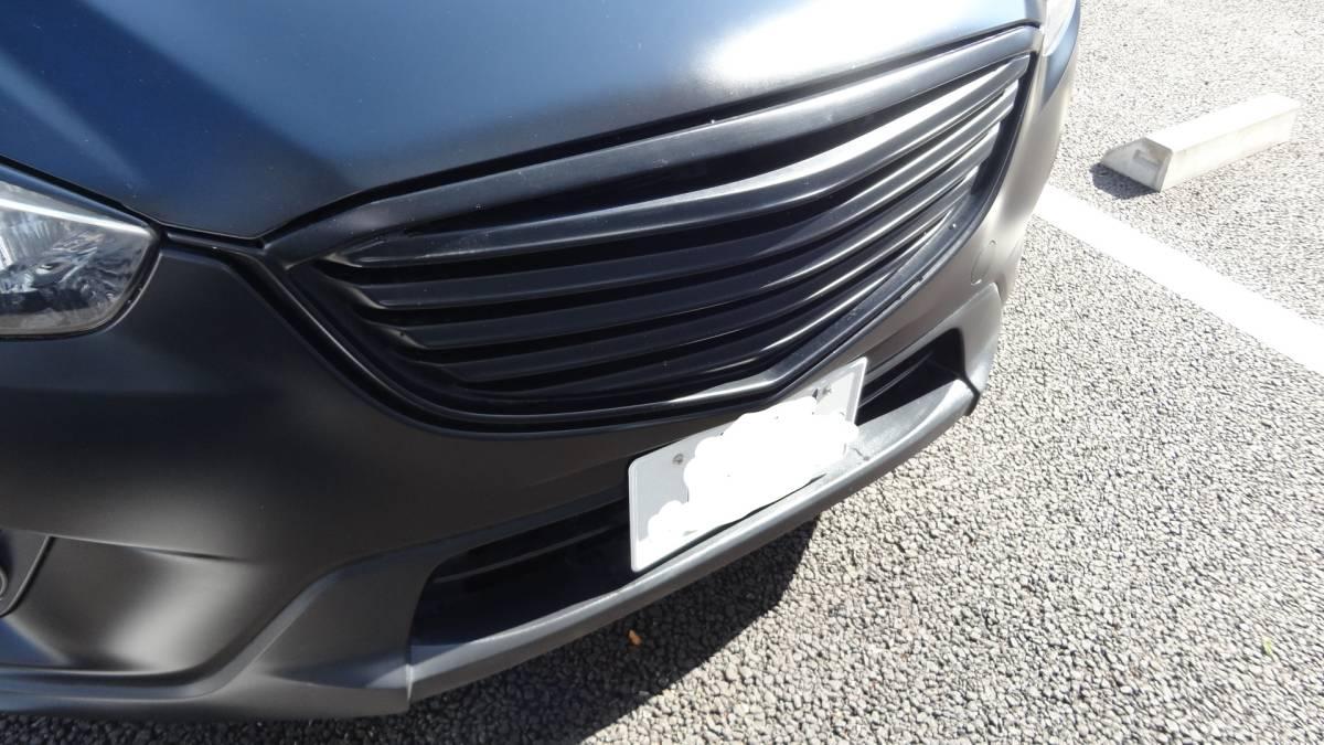「マツダ CX-5 平成24年式 22インチ マットブラックオールペン オーバーフェンダー カスタム 車高調 リコールエンジン新品」の画像3