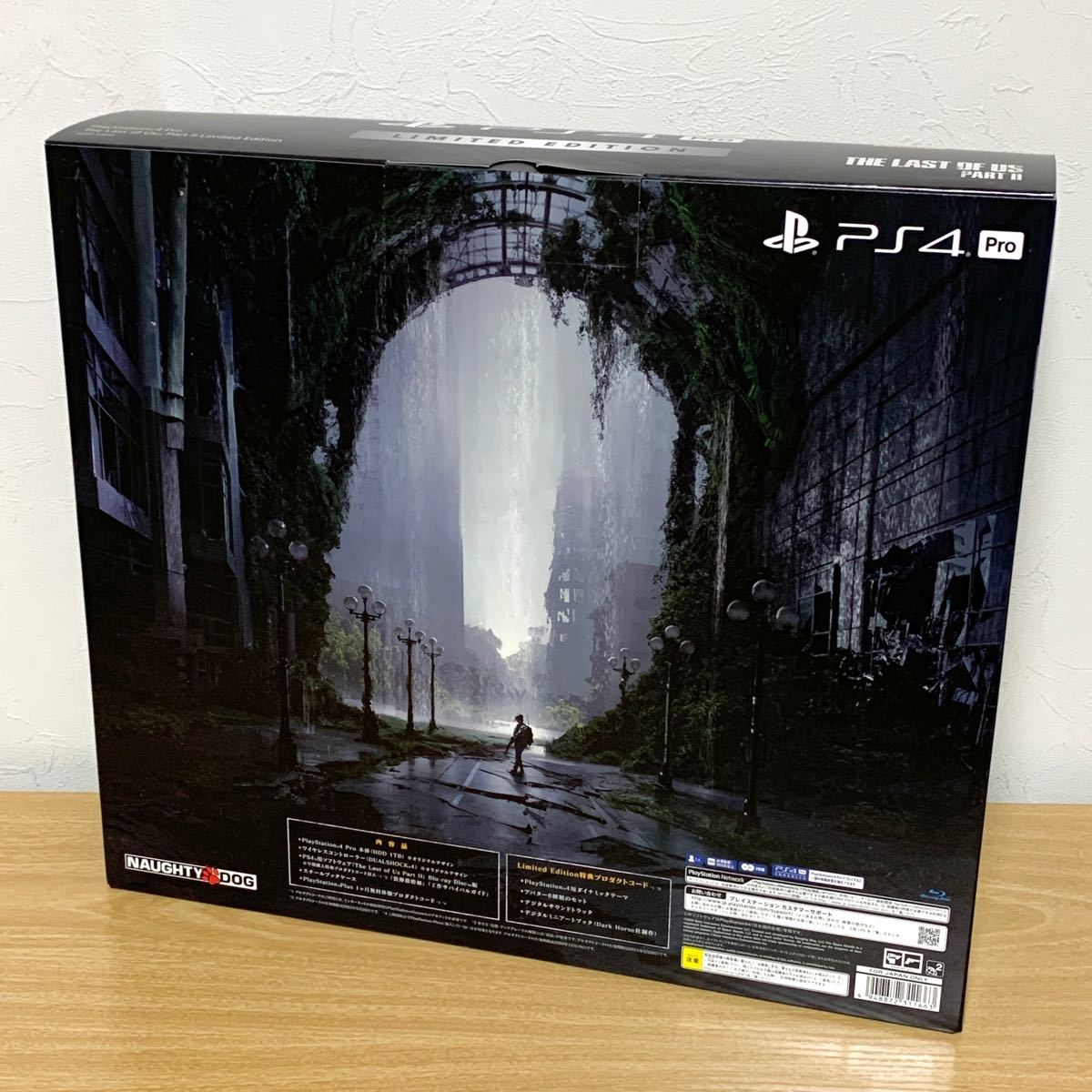 PlayStation 4 Pro□The Last of Us Part II Limited Edition□1TB