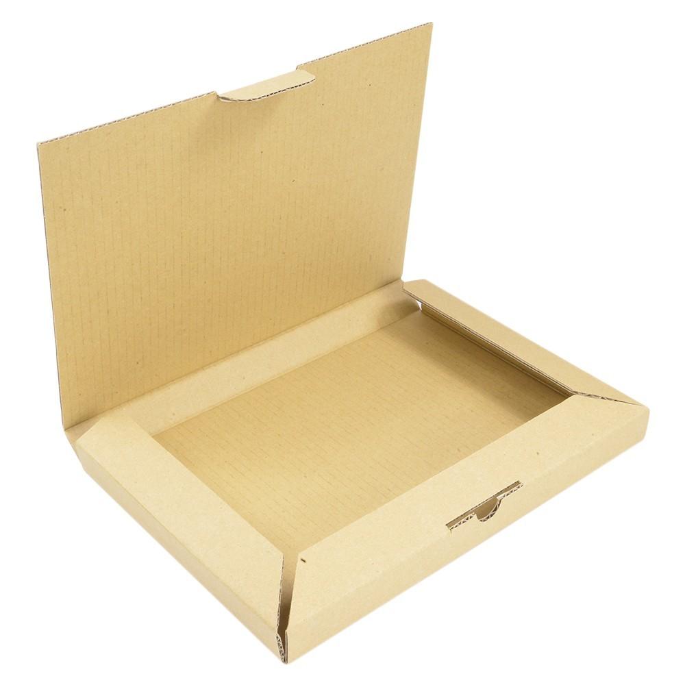 ゆうパケット対応 タトウ式 ダンボール A4サイズ [ 1枚 ] 段ボール 段ボール箱 ダンボール箱 組立 折り畳み式 宅配箱 クリックポスト対応_ゆうパケット対応 タトウ式 ダンボール A4