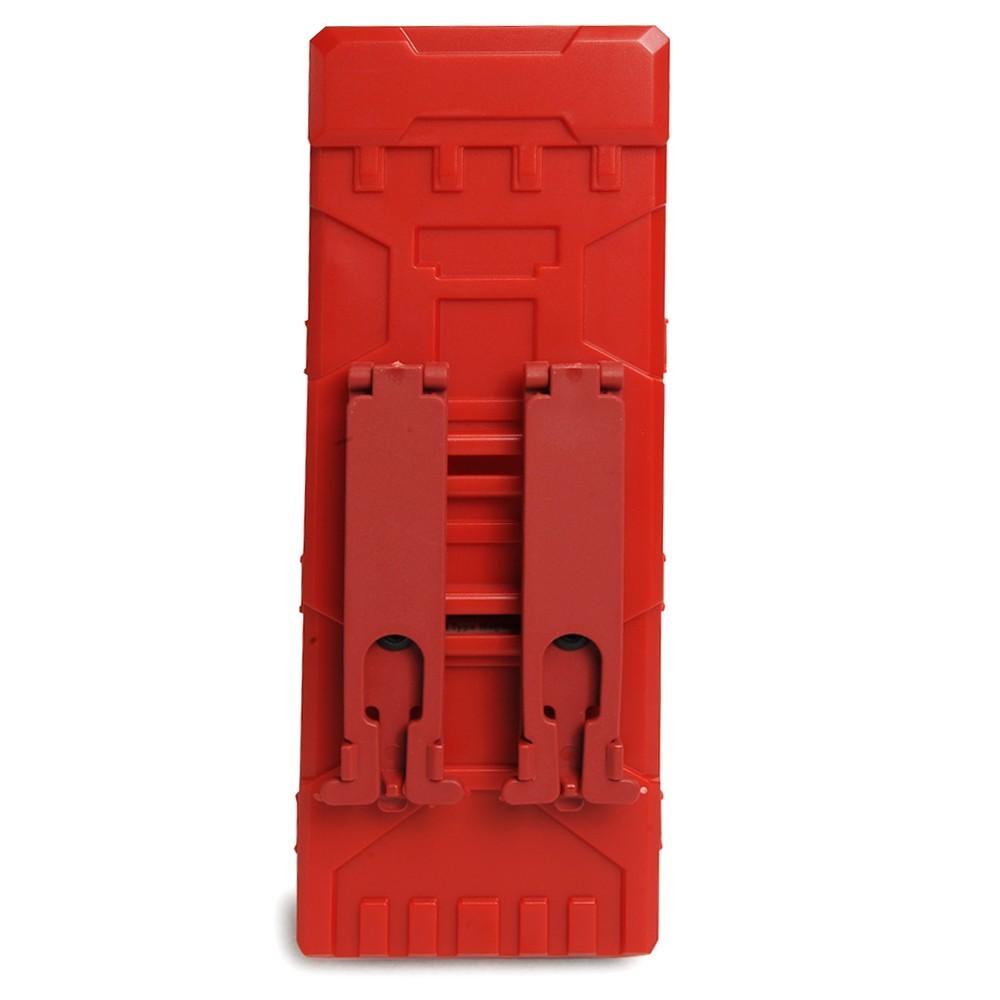 ショットシェルホルダー MOLLE 樹脂製 東京マルイ製ショットシェル型マガジン対応 [ レッド ] ショットシェルケース 散弾ケース_ショットシェルホルダー MOLLE 樹脂製 東京