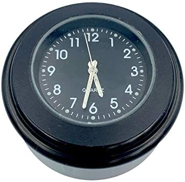 【新品未使用】黒(HH)夜光22mm~25mmハンドル適用アナログ時計ダイ時計夜光機能防水バイクVISPREA_画像2