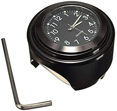 【新品未使用】黒(HH)夜光22mm~25mmハンドル適用アナログ時計ダイ時計夜光機能防水バイクVISPREA_画像1