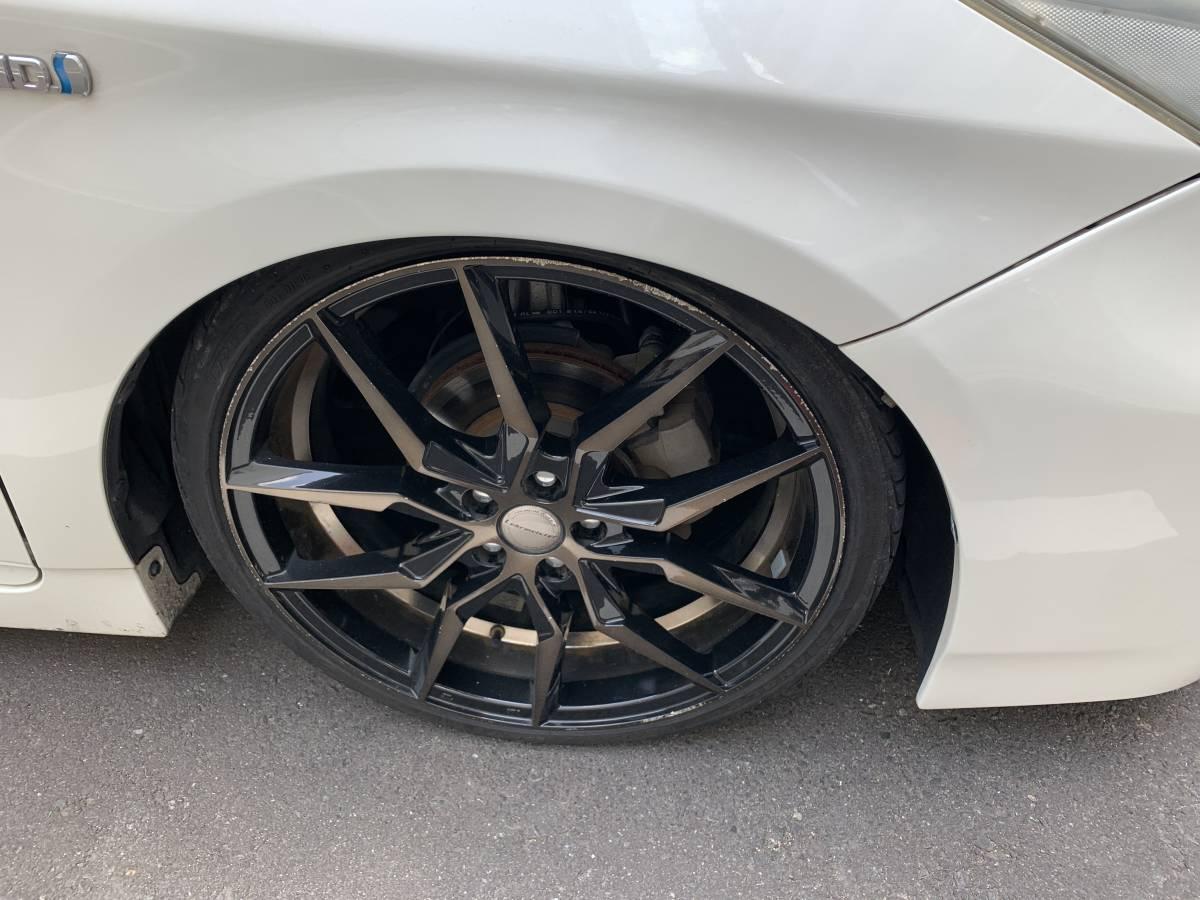 「平成21年式 トヨタ プリウス ローダウン 車高調 19インチアルミ 個人出品 コミコミ売り切り」の画像2