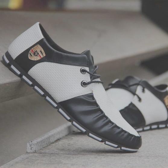 【安最値】スニーカー スリッポン メンズ ローファー カジュアル ドライビング レースアップ 紳士靴 24.5~27.0_画像7