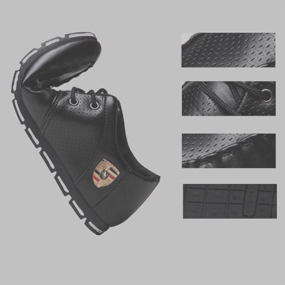 【安最値】スニーカー スリッポン メンズ ローファー カジュアル ドライビング レースアップ 紳士靴 24.5~27.0_画像3