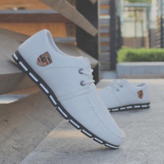 【安最値】スニーカー スリッポン メンズ ローファー カジュアル ドライビング レースアップ 紳士靴 24.5~27.0_画像9