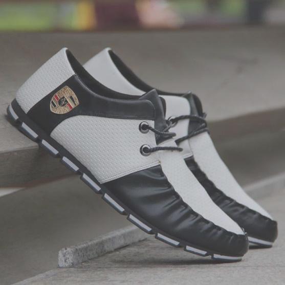 【安最値】スニーカー スリッポン メンズ ローファー カジュアル ドライビング レースアップ 紳士靴 24.5~27.0_画像5