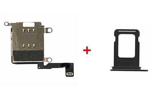 送料無料 iPhone 12 Pro Max デュアルSIM化パーツKIT 64GB 128GB 256GB_画像1