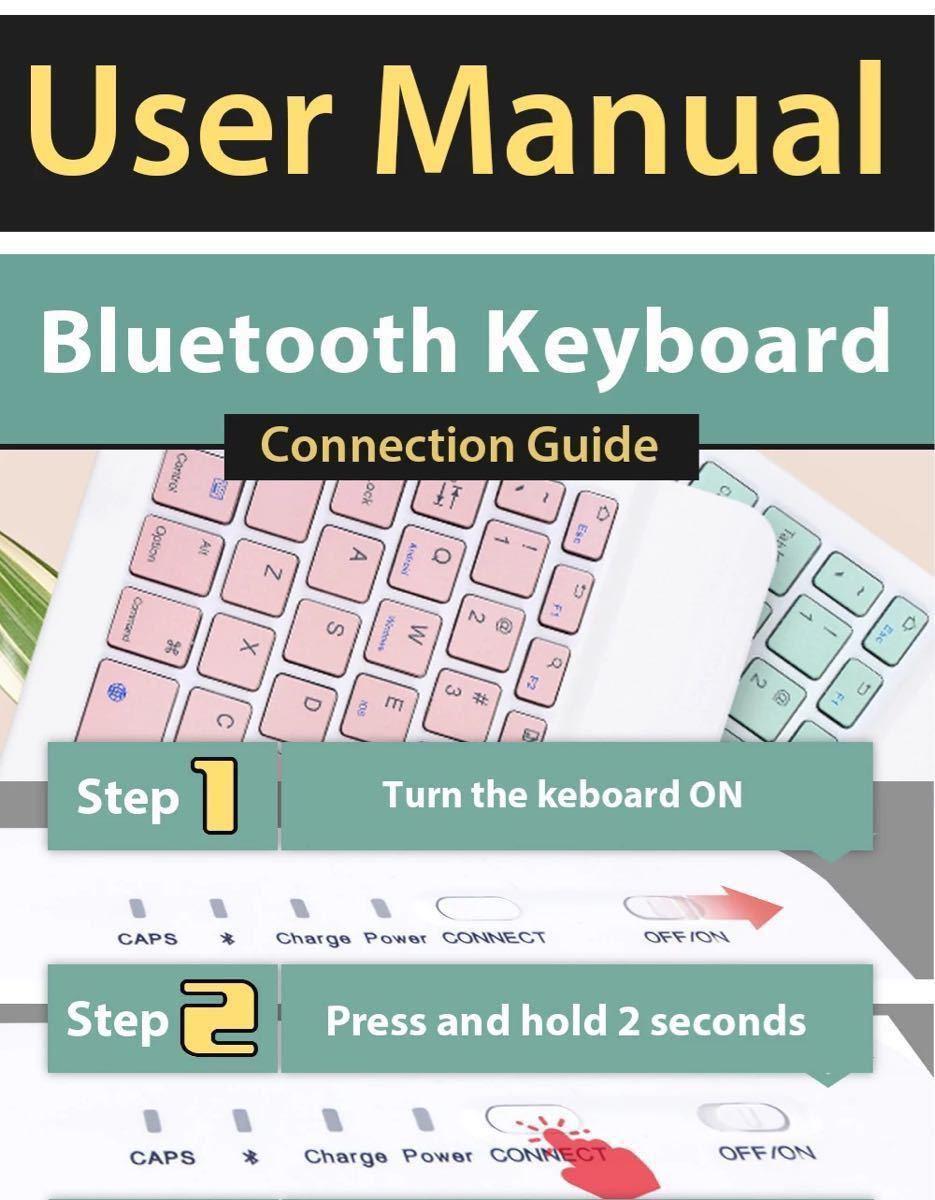 ワイヤレスキーボード Bluetooth Keyboard マウス