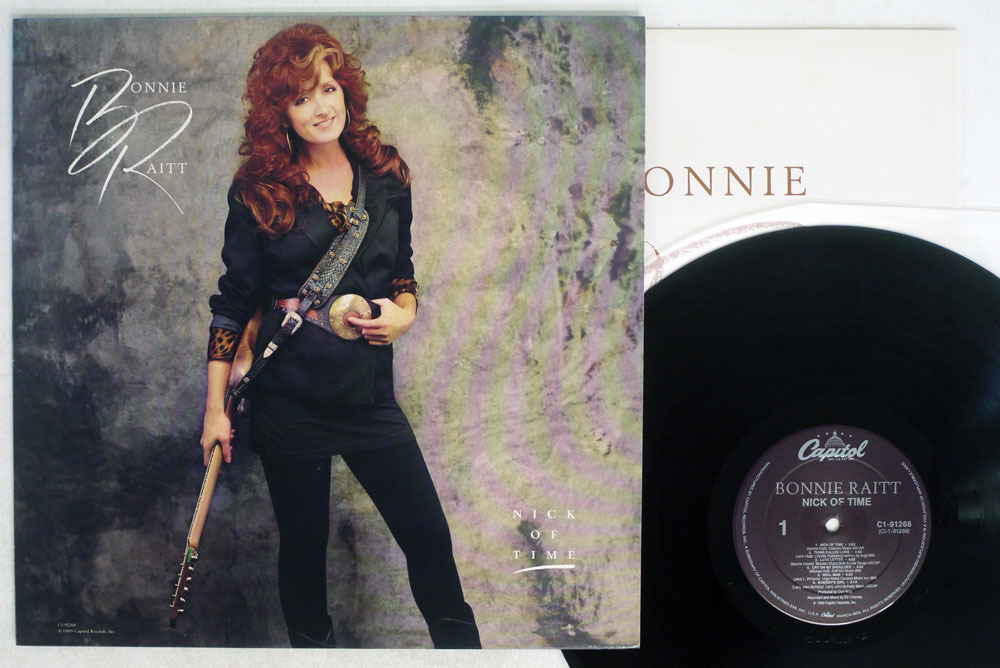 米 BONNIE RAITT/NICK OF TIME/CAPITOL RECORDS C1 91268_画像1