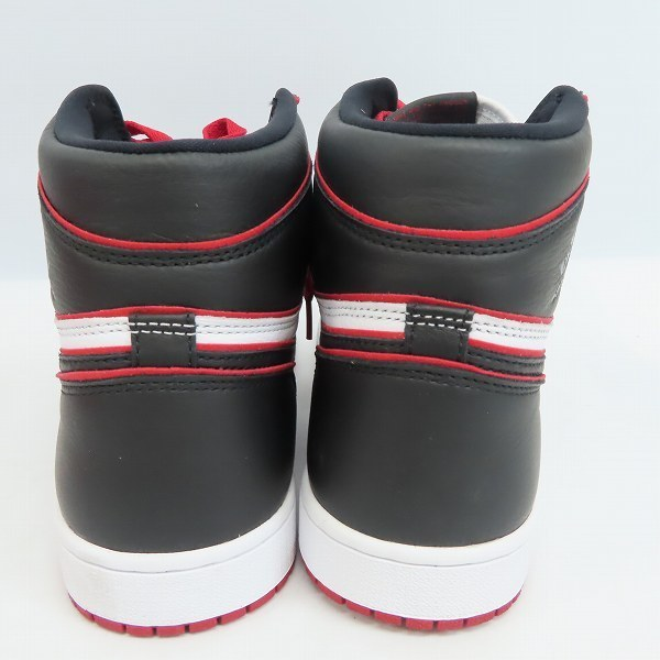 NIKE/ナイキ Air Jordan 1 High OG Bloodline/エアジョーダン1 レトロ ハイ ブラッドライン 555088-062/29 /080_画像2