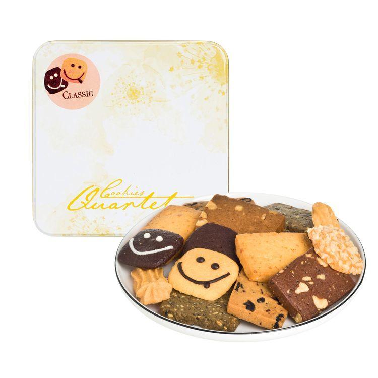 香港直送品 / Cookies Quartet 曲奇四重奏 クッキーカルテット 大人気おいしい クラシック MIX クッキー アソート◆9種類詰め合わせ 250g_画像2