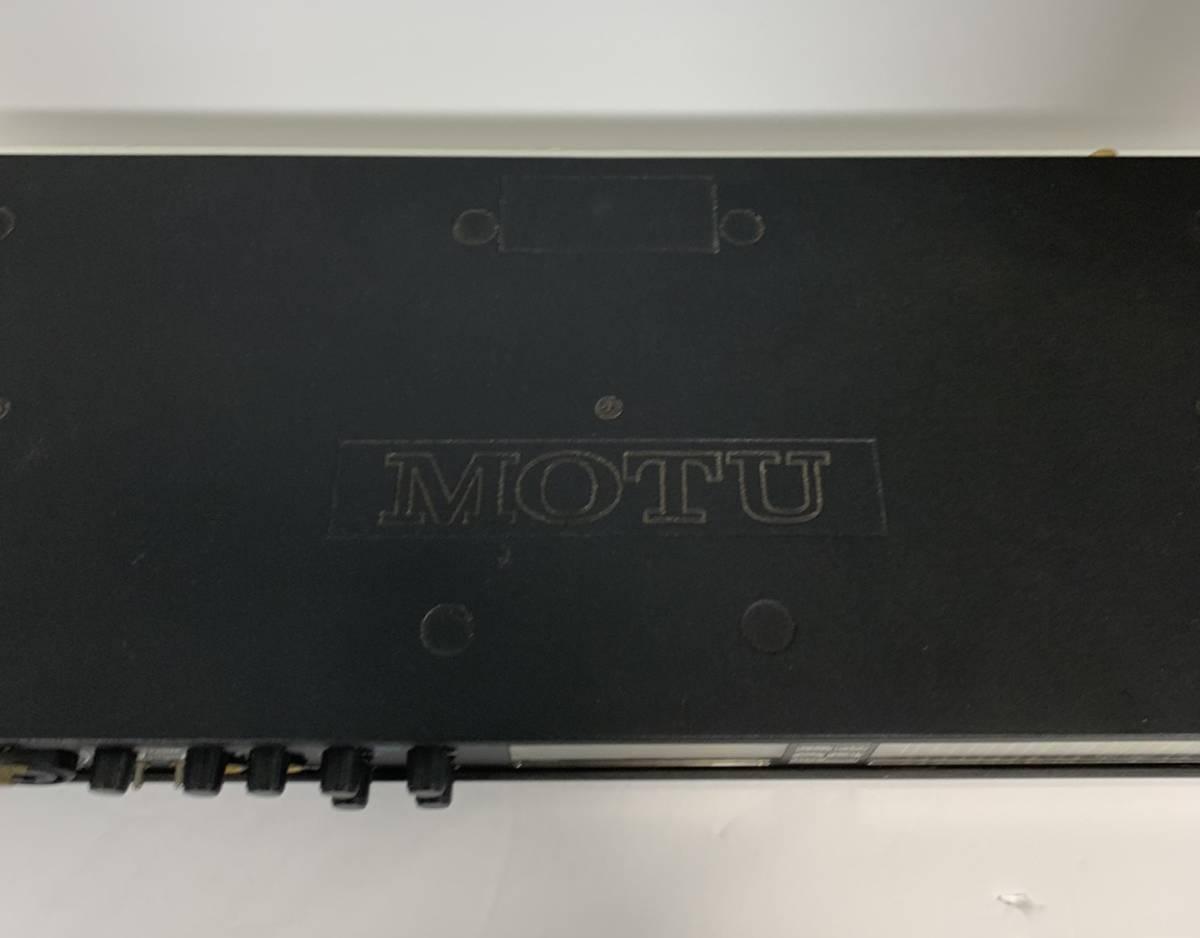 MOTU 828mk3 オーディオインターフェイス 保証付き_画像5