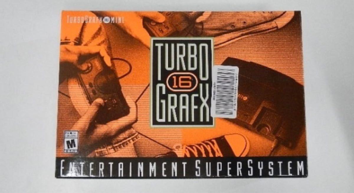 北米版 ターボグラフィックス-16 mini TurboGrafx-16 mini PCエンジン