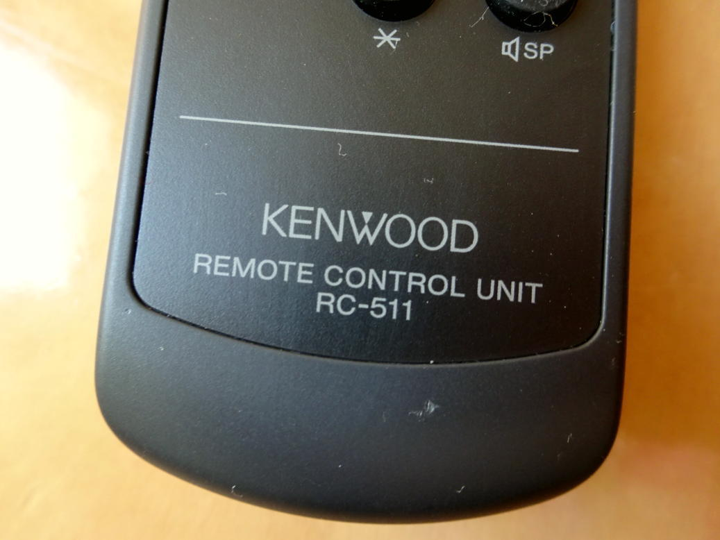★KENWOOD ケンウッド RC-511リモコン★h_画像2