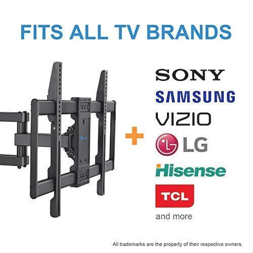 お待ち堂様 RENTLIV テレビ壁掛け金具 大型 37-70インチ対応 アーム式 耐荷重60kg LCD LED 液晶テレビ用 前後&左右&上下多角度調節可能_画像6