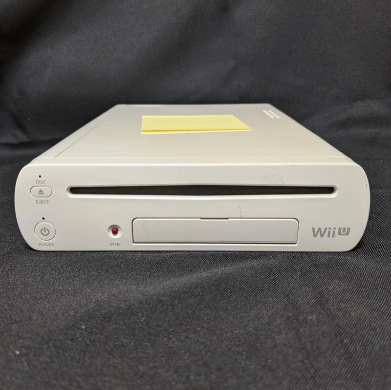 任天堂 WiiU 32GB シロ 本体のみ マリオカート8 ソフト内蔵