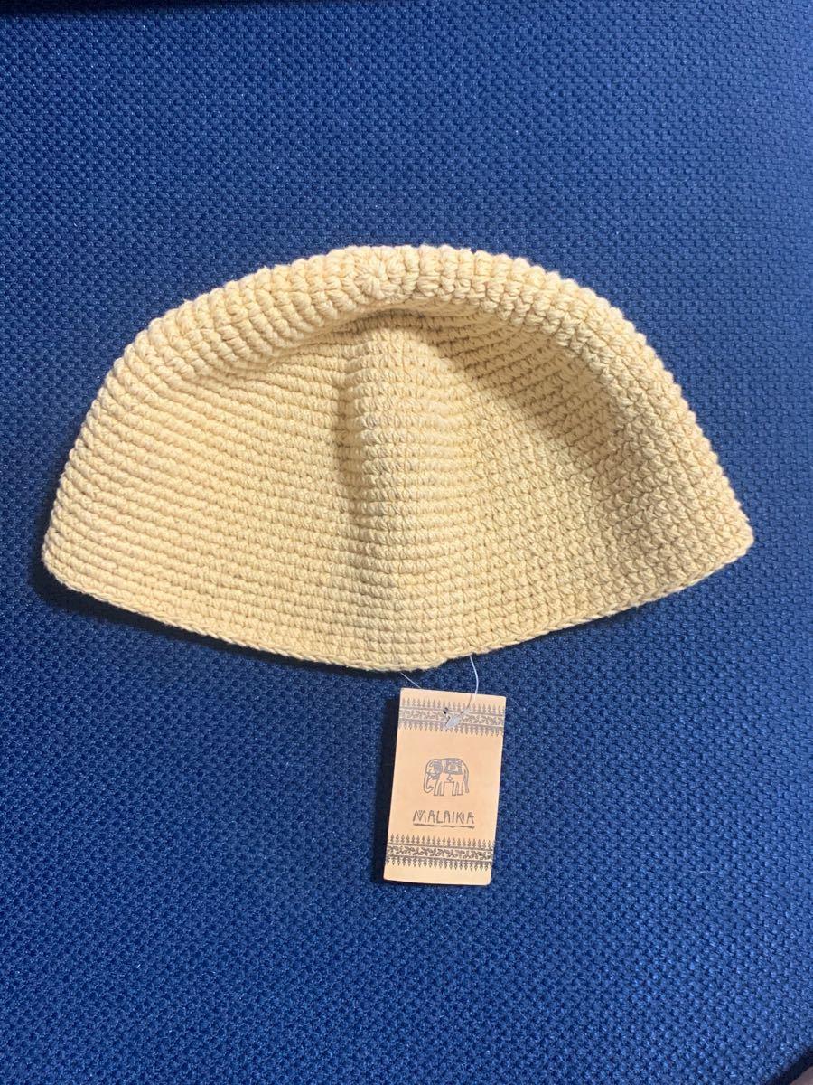 マライカ 帽子 コットン100% タグ付き