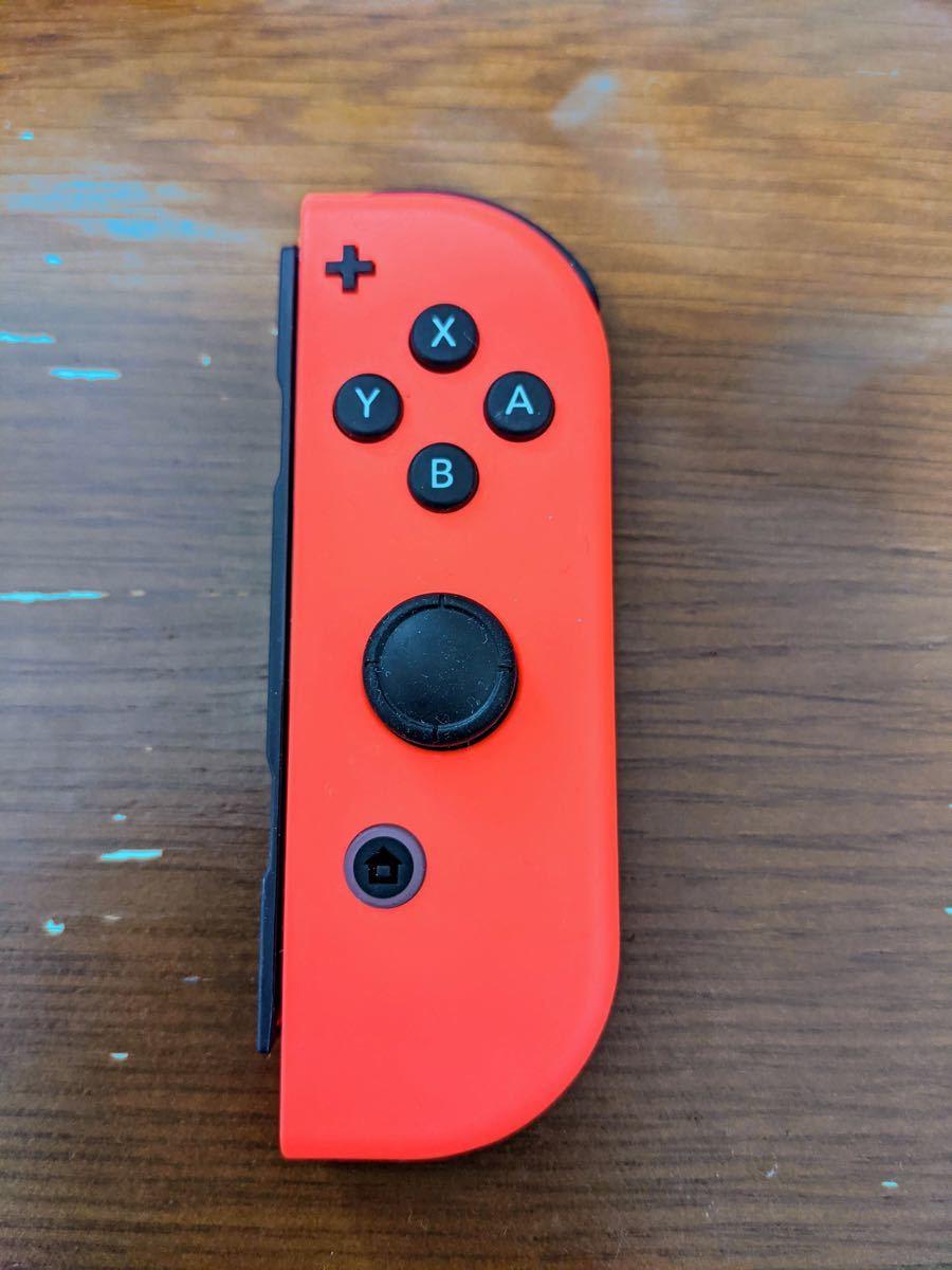ジョイコン Nintendo Switch ネオンレッド