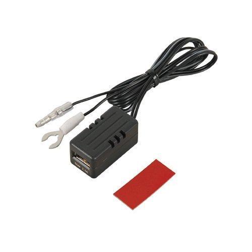 【@111000】後部座席延長用(充電用) エーモン USB電源ポート MAX2.1A 後部座席延長用 2880_画像1