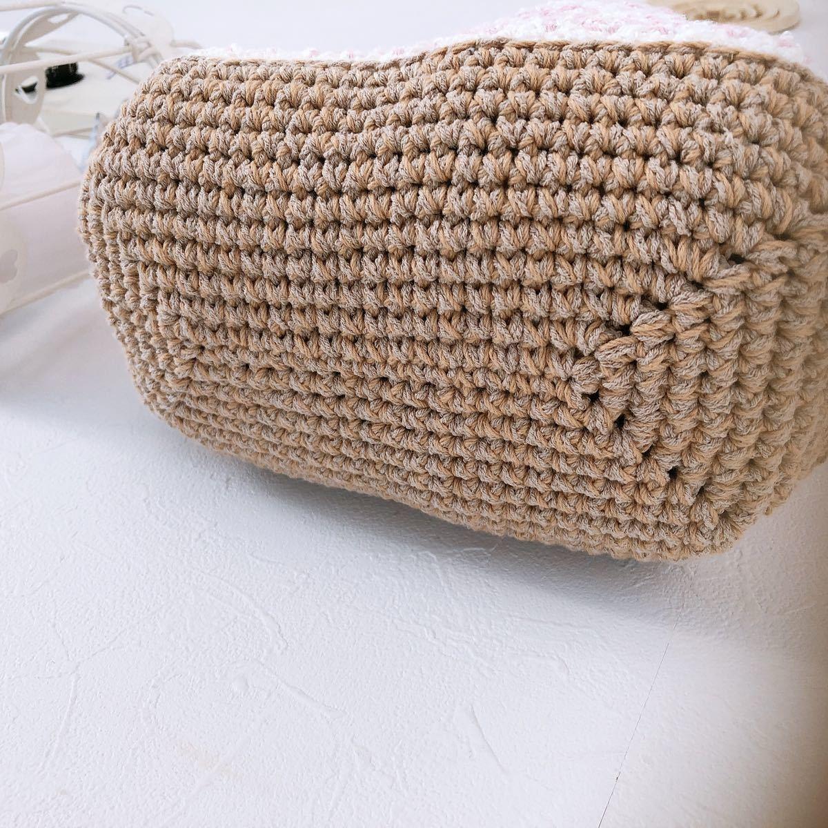トートバッグ ランチバッグ  かごバッグ ハンドメイドバッグ
