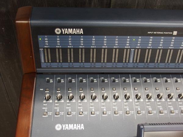 引取限定 YAMAHA ヤマハ デジタルミキサー DM2000VCM メーターブリッジ MY16-AEx4枚 MY8-AE96Sx2枚 *318602_画像3