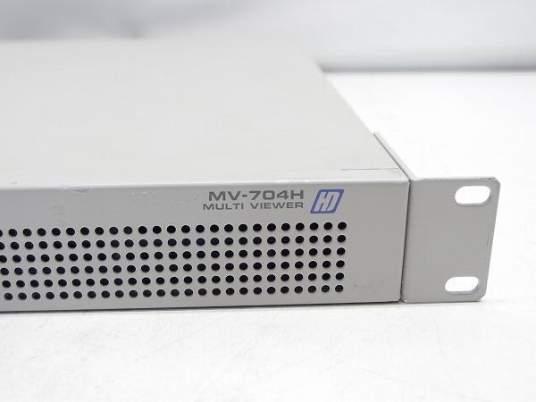 FOR.A 朋栄 MV-704H 4画面表示装置 HD-SDI マルチビューワー 映像切替/確認 防犯カメラなど *319191_画像5