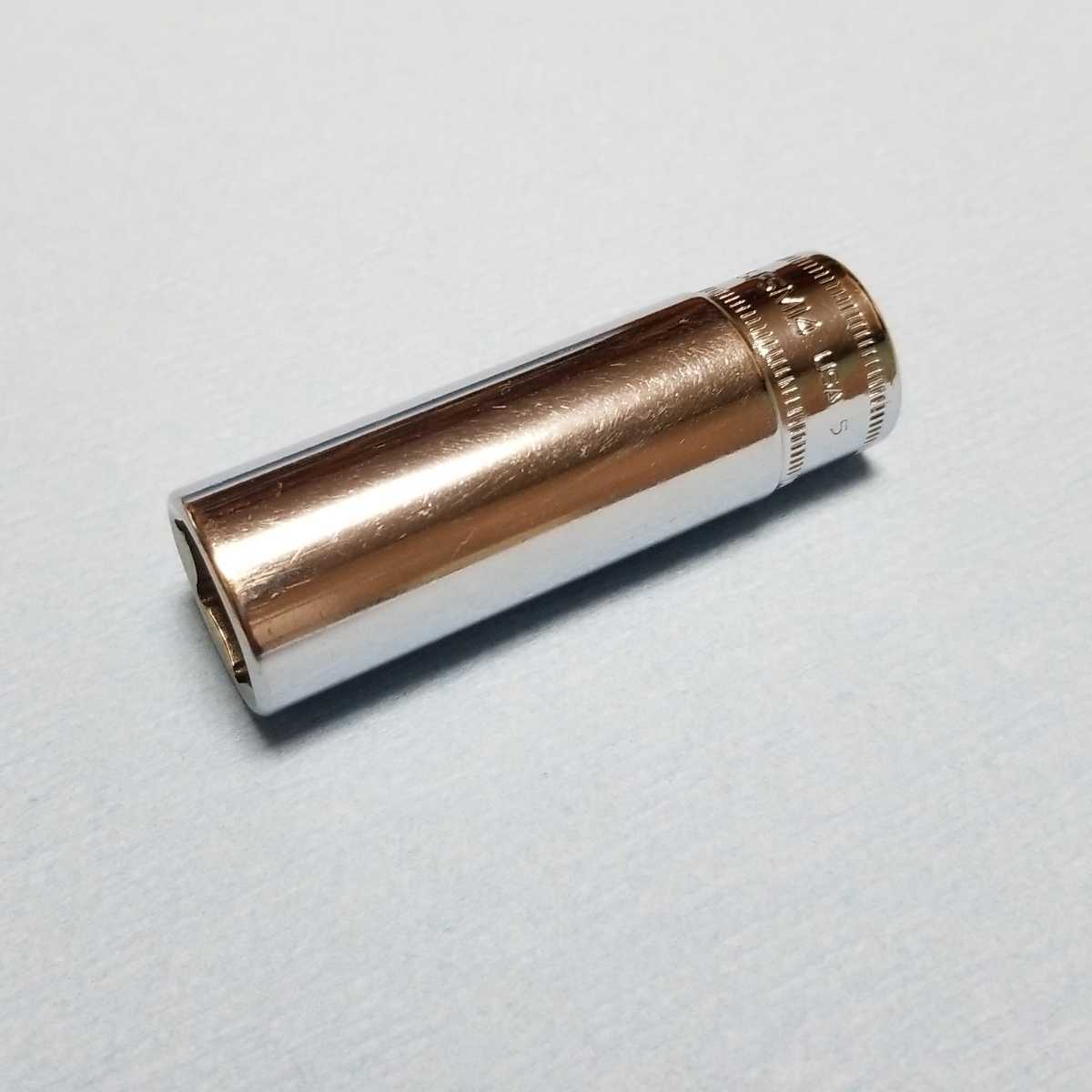 14mm 3/8 ディープ スナップオン SFSM14 (6角) 中古品 美品 保管品 SNAPON SNAP-ON ディープソケット ソケット 送料無料 Snap-on _画像8