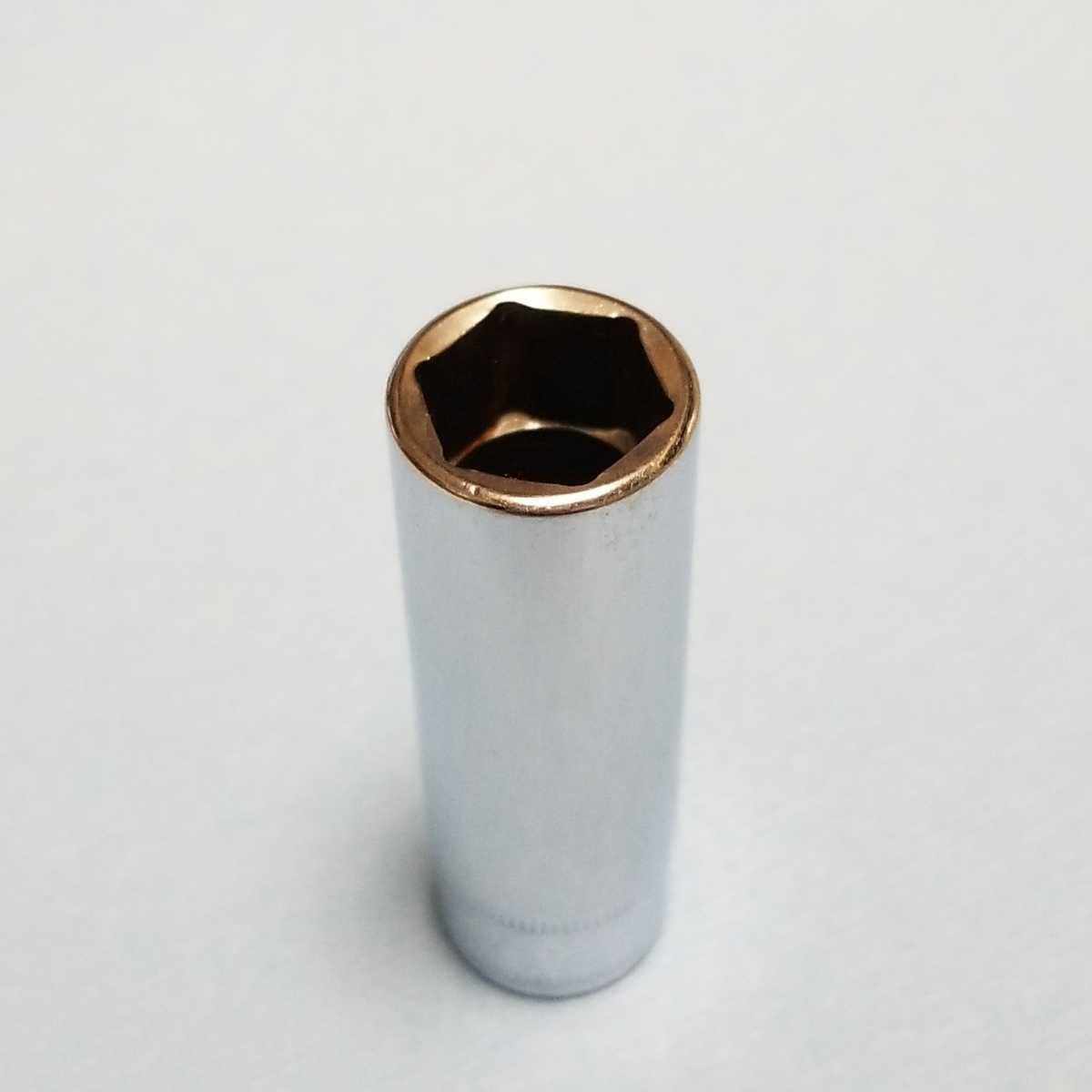 14mm 3/8 ディープ スナップオン SFSM14 (6角) 中古品 美品 保管品 SNAPON SNAP-ON ディープソケット ソケット 送料無料 Snap-on _画像3