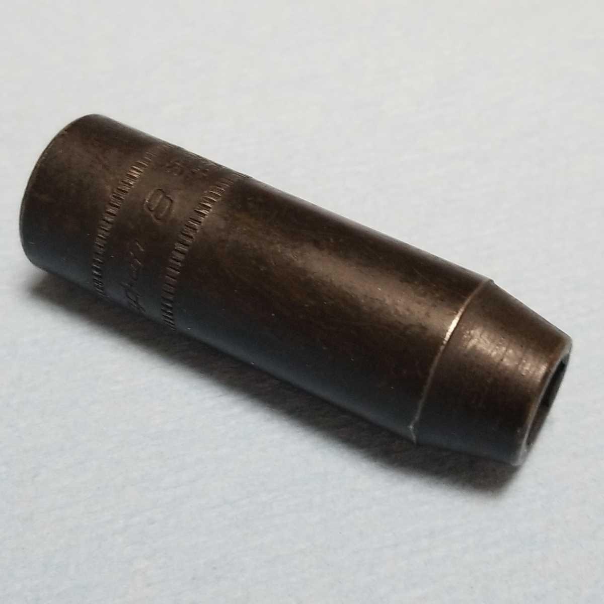 未使用 8mm 3/8 インパクト ディープ スナップオン SPFM8 (6角) 新品 保管品 SNAPON SNAP-ON ディープソケット ソケット _画像2