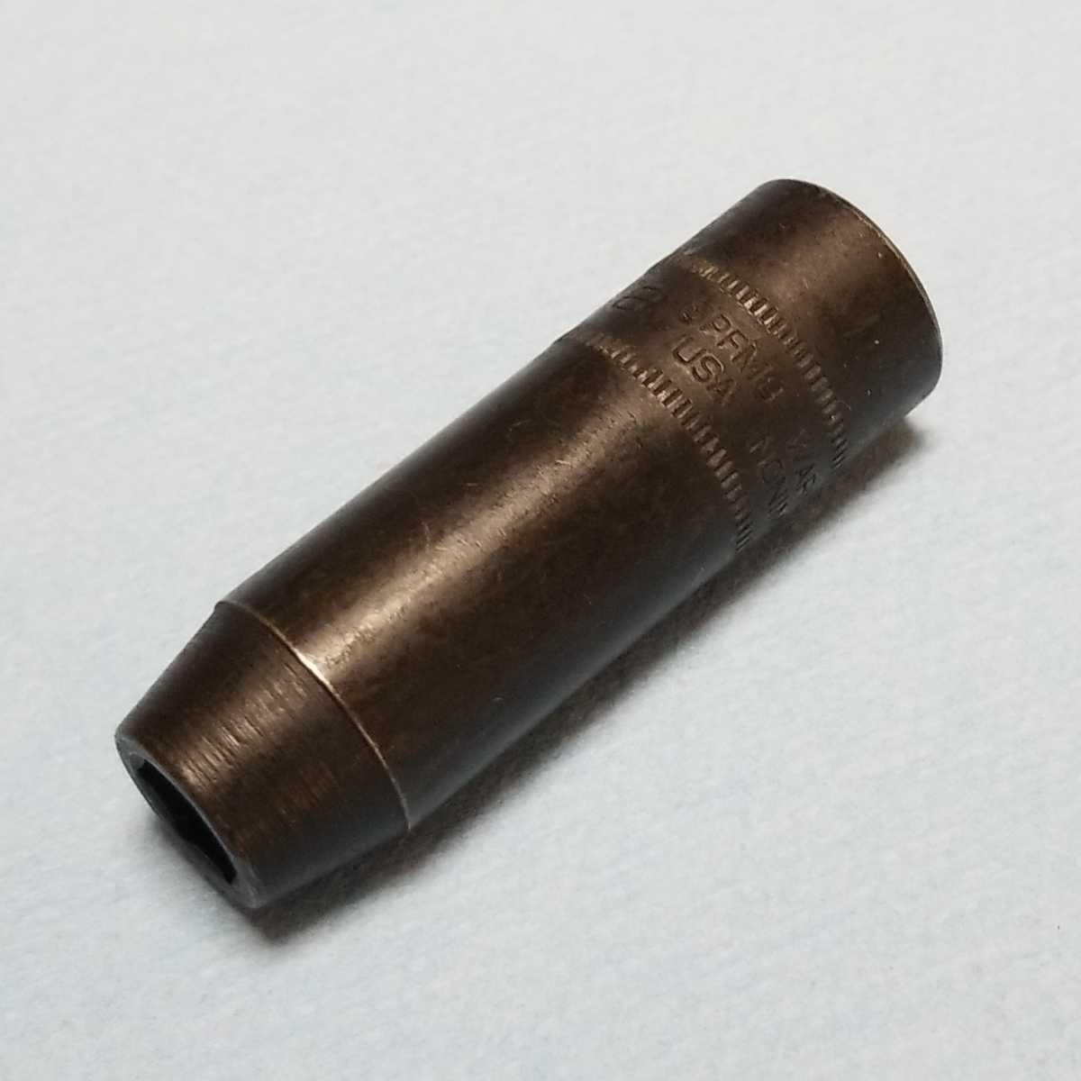 未使用 8mm 3/8 インパクト ディープ スナップオン SPFM8 (6角) 新品 保管品 SNAPON SNAP-ON ディープソケット ソケット _画像10