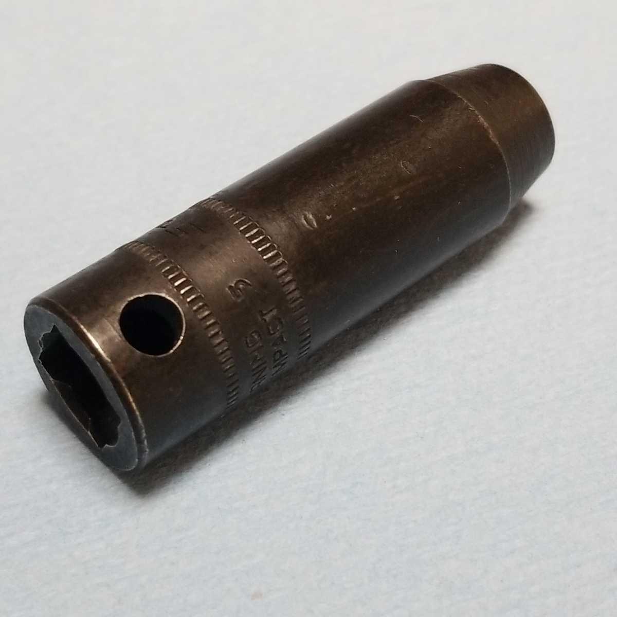 未使用 8mm 3/8 インパクト ディープ スナップオン SPFM8 (6角) 新品 保管品 SNAPON SNAP-ON ディープソケット ソケット _画像6