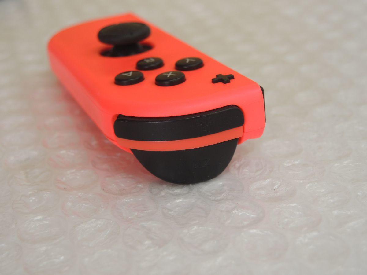 Nintendo Switch ニンテンドースイッチ Joy-Con (R) ネオンレッド ストラップ ジョイコン 任天堂_画像5
