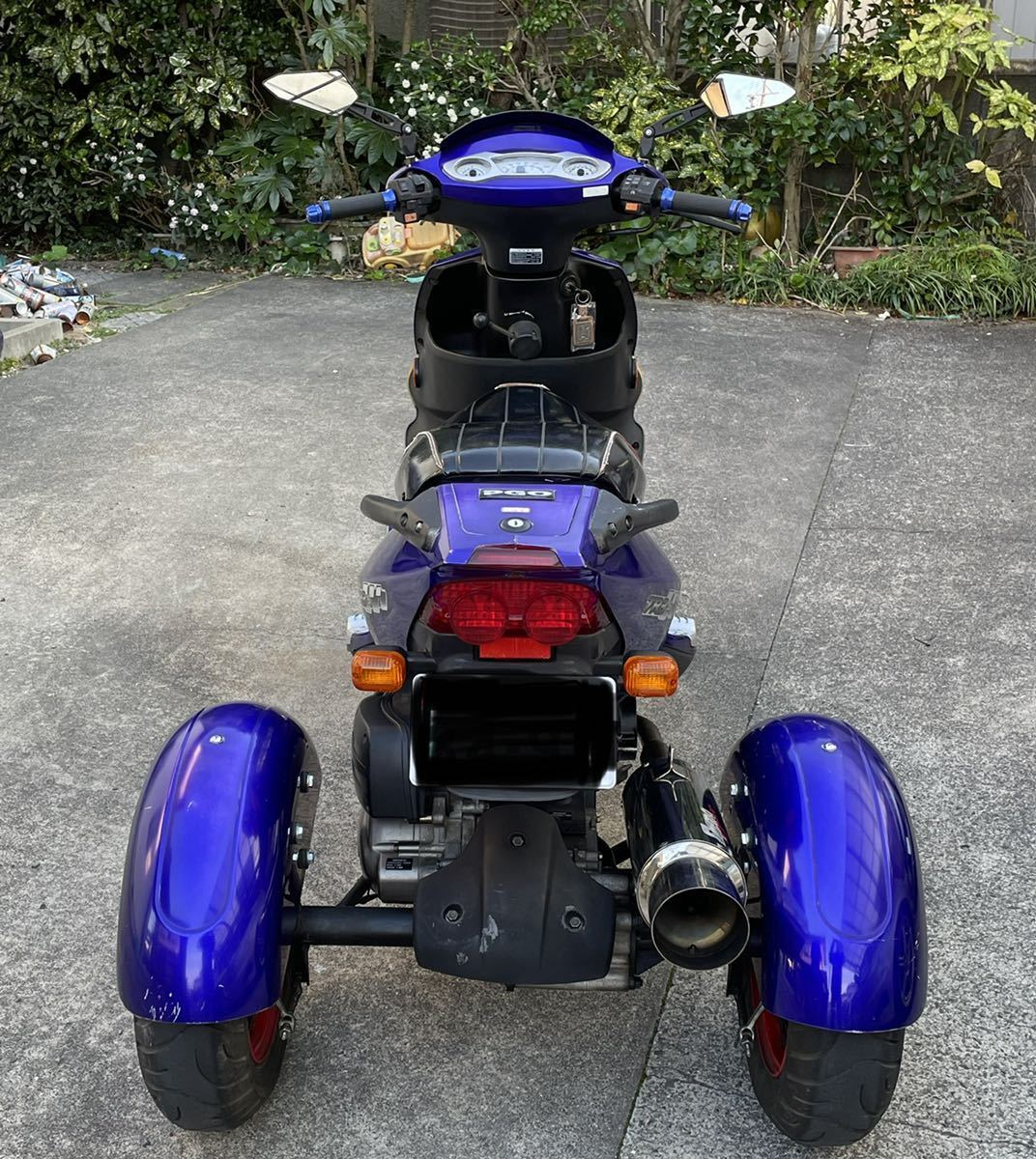 「PGO TR-3 トライク 150cc メーカー純正トライク 台湾製 カスタム済み 実動車」の画像3