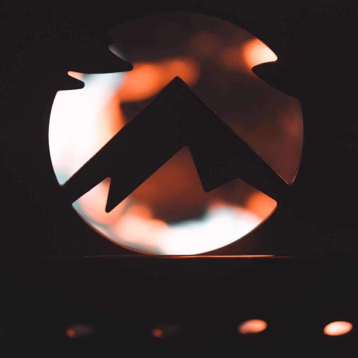 CAMPING MOON キャンピングムーン 焚き火サークルプレート MT-045ファイヤープレート 収納ケース付 TKB-360