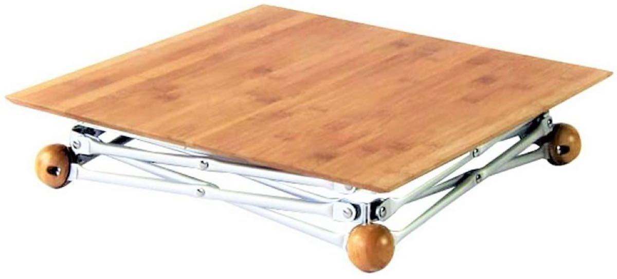 ★サイドテーブル★サイドウッドテーブル★セカンドテーブル★ケース付★ウッドテーブル★アウトドアテーブル★フォールディングテーブル★