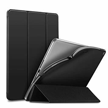 ブラック ESR iPad Mini 5 2019 ケース 軽量 薄型 PU レザー スマート カバー 耐衝撃 傷防止 ソフト _画像1