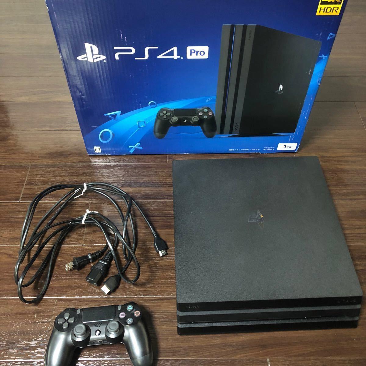 PlayStation4 Pro ジェット・ブラック 1TB CUH-7000BB01