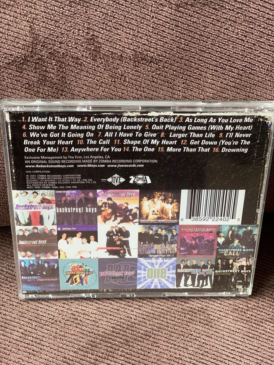 GREATEST HITS Backstreet Boys バックストリート・ボーイズ