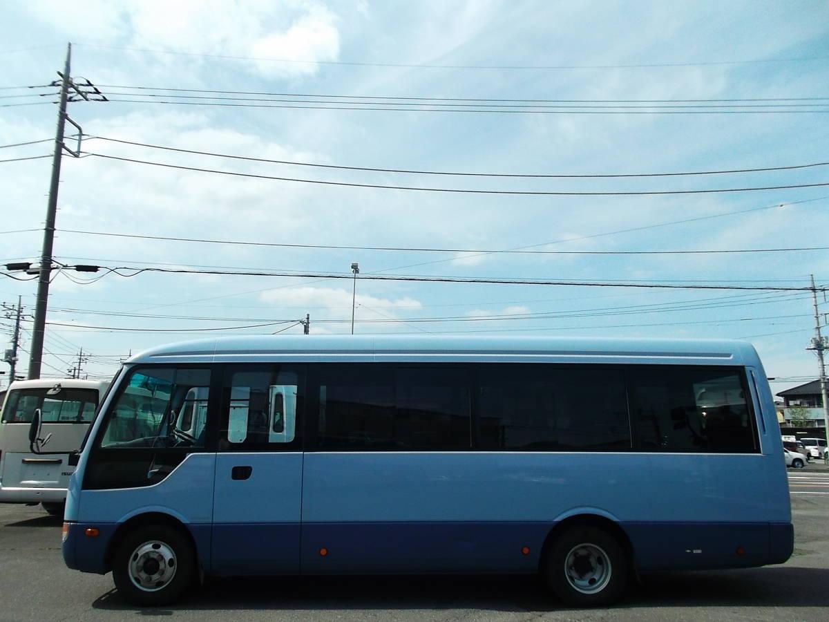 ★H27年6月三菱ローザ ハイルーフロング マイクロバス 29人乗 AT 自動スイングドア Nox,PM適合 _画像4